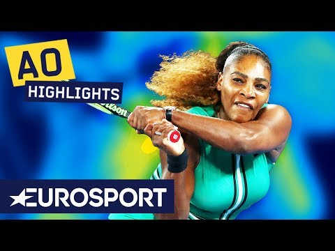 Serena Williams vs Eugenie Bouchard Highlights | Australian Open 2019 Round 2 | Eurosport