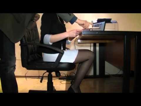 проверка секретарши на профпригодность боссом - 13