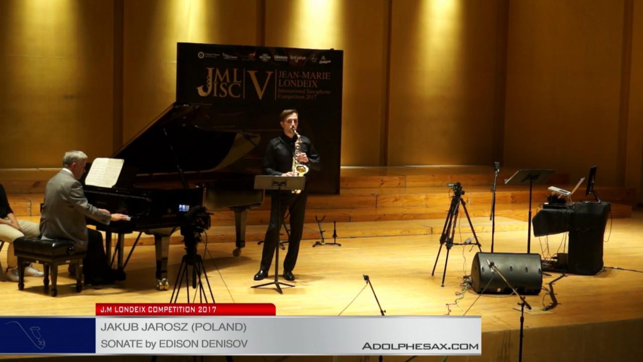 Londeix 2017 – Semifinal – Jakub Jarosz (Poland) – Sonate by Edison Denisov