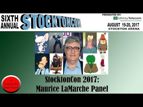 StocktonCon 2017: Maurice LaMarche Panel