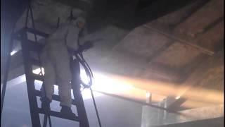 Очистка после пожара мягким бластингом(, 2013-07-26T17:06:05.000Z)