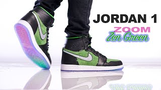 Jordan 1 ZOOM Zen Green | Rage Green | On Foot 4K Review