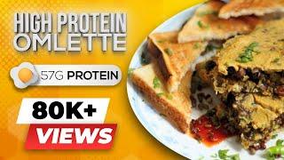 Protein Omelette - Easy keto recipes - BeerBiceps bodybuilding breakfast egg recipes