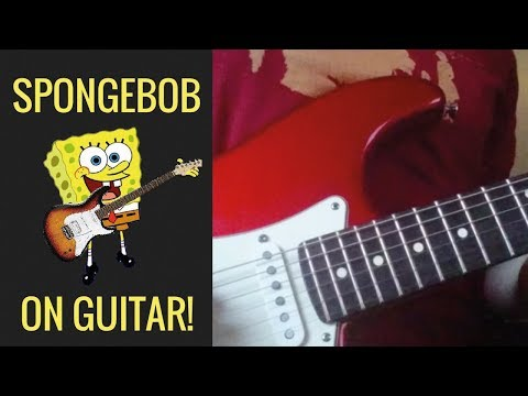 Spongebob Squarepants - Ending Theme (Guitar Cover)