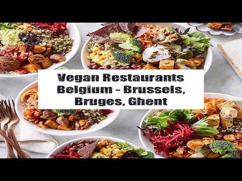 VEGAN RESTAURANTS IN BELGIUM - BRUSSELS, BRUGES, GHENT
