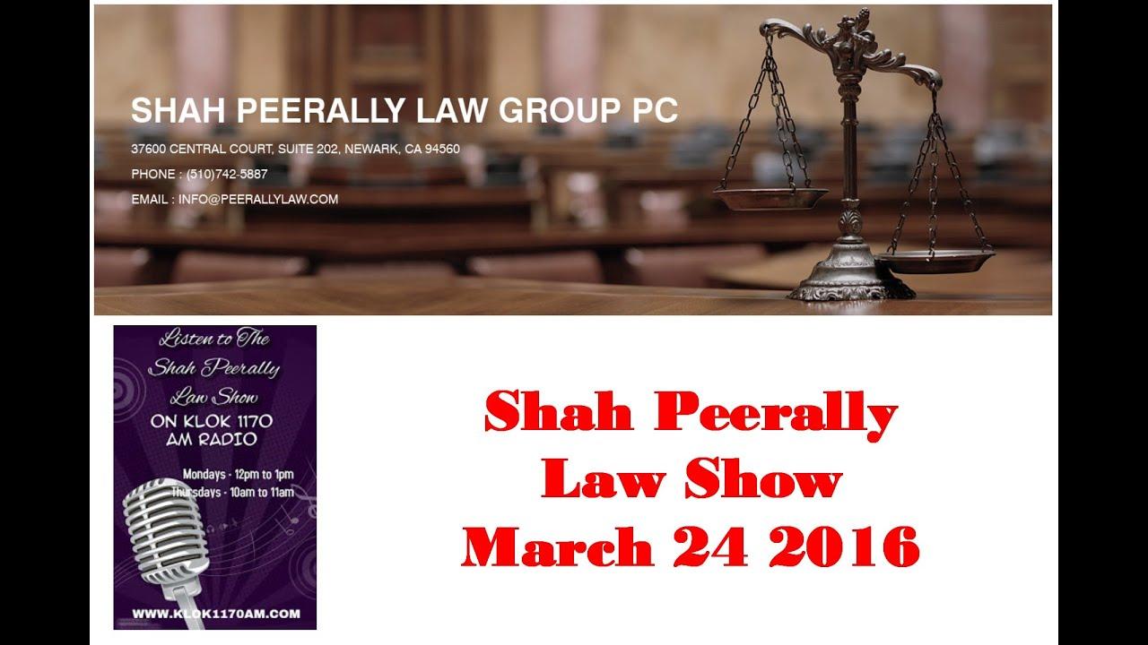 Radio Law Show: H4 EAd, H1B extension, Student Visa, OPT, F1, Politics