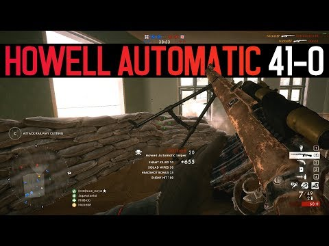Howell Automatic (41-0) - Battlefield 1