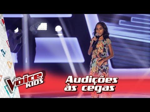 Alane Freitas canta 'Água de Beber' na Audição – 'The Voice Kids Brasil' | 3ª Temporada