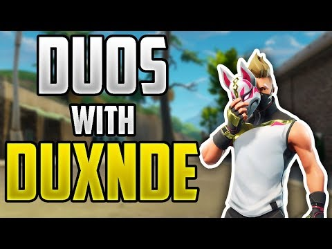 Duos With **DUXNDE** | Fortnite: Battle Royale Gameplay!