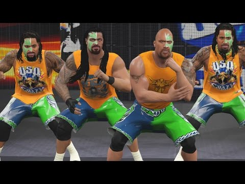 WWE 2K16 Mods - The Rock Joins the Usos