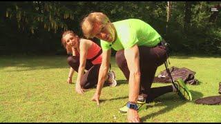 Finde dein Fitnessgerät: Anna und Achim testen den Parachute