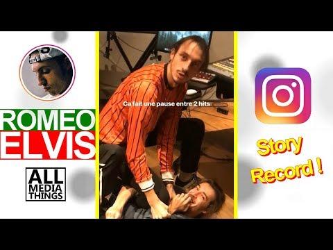 Youtube: EXCLU: Roméo Elvis se bat au studio de son album Chocolat +délires, sa copine & tournée STORY RECORD