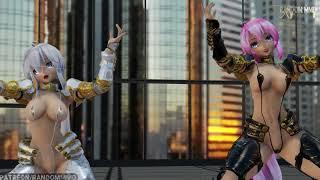 【MMD】Gentleman || Haku & Luka knights