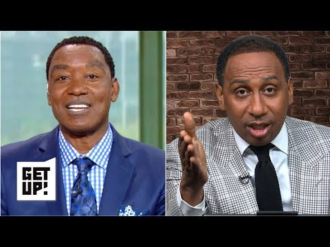 Stephen A. and Isiah Thomas debate Kevin Durant and Kyrie Irving joining forces | Get Up!
