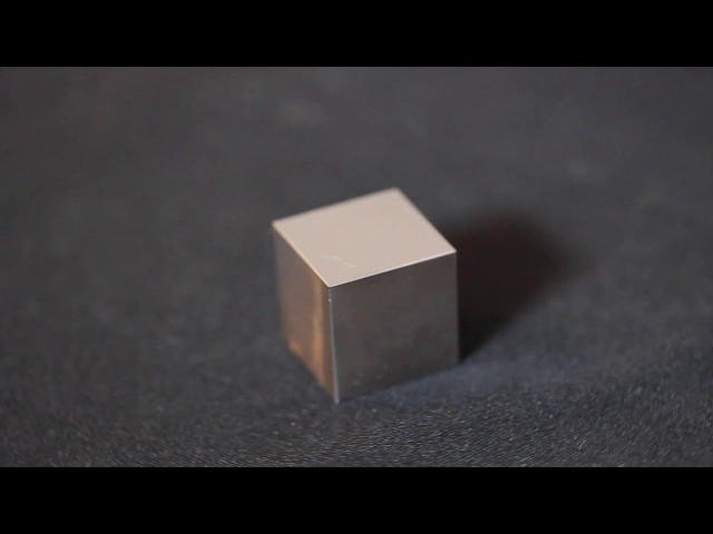 Large Tantalum metal density cube 10cm3