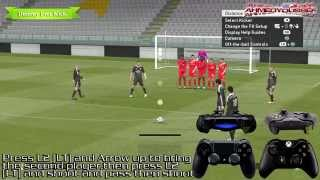 Pes 2015 Free Kick HD Tutorial ( PC & Xbox One & PS4 ) 1080p