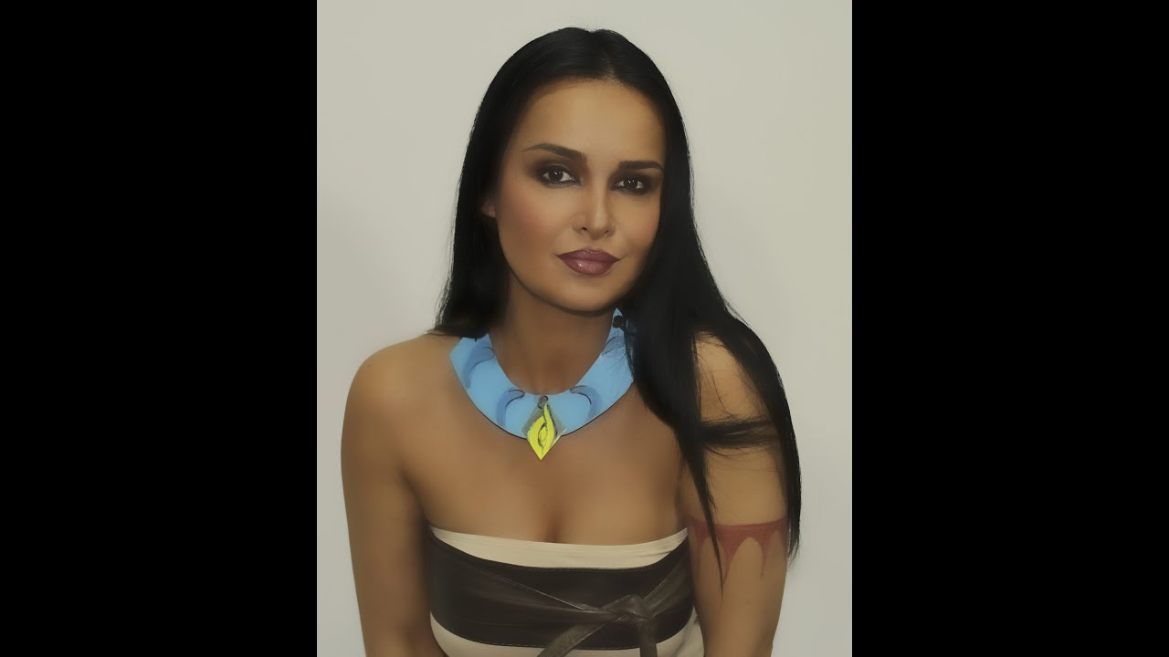 Pocahontas Make Up Transformation