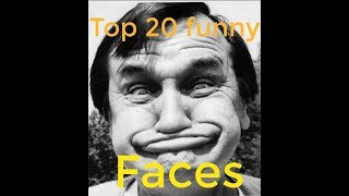 most funny faces of all time !!! try not to laugh or grin challenge