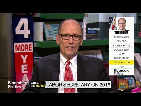 Labor Secretary Tom Perez Downplays Clinton Veep Rumors