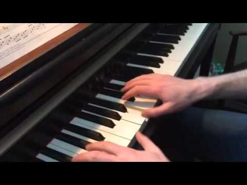 Allegro agitato Jon George fast version piano tutorial