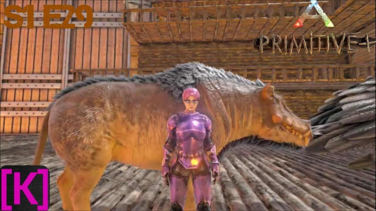 Ark Survival Evolved: Primitive Plus: Season 1 Episode #29: The Hell Pig!!!