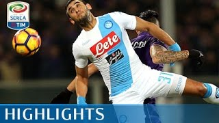 Fiorentina - Napoli - 3-3 - Highlights - Giornata 18 - Serie A TIM 2016/17 streaming
