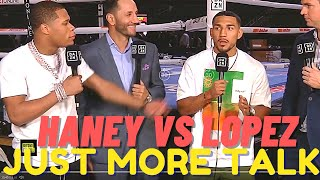 ALL Talk! Teofimo Haฑey CONFRONTATION Means NOTHING! Ryan Garcia INJURED Or? Tank RULES 135?