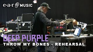 """Deep Purple """"Throw My Bones"""" Live Rehearsal Session - New album """"Whoosh!"""" out now"""