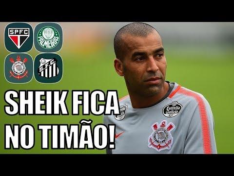 Corinthians Deve Renovar Contrato Com Sheik (10/04/18) - Boletim Da Manhã