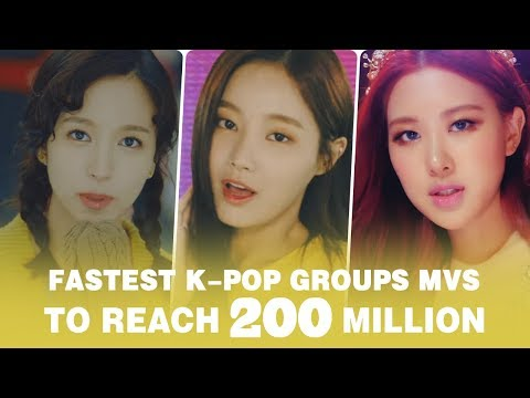[TOP 29] FASTEST KPOP GROUPS VIDEOS TO...