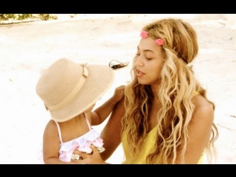 Beyonce and Blue Ivy Carter Beach Date -- PHOTOS!