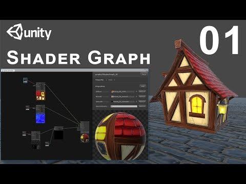 Unity Shader Graph Tutorial - Go Make Games, Unity 2018 beta