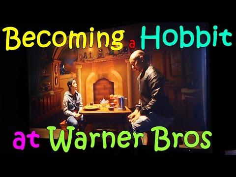 BECOMING A HOBBIT at WARNER BROS STUDIOS HOLLYWOOD | March 30th, 2017 | Vlog #69