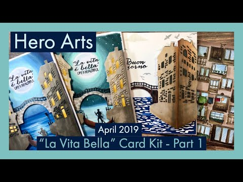 Hero Arts | My Monthly Hero | April 2019 Card Kit | Part 1