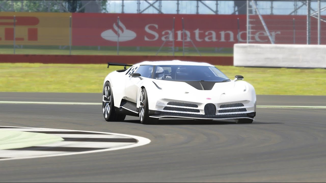 2020 Bugatti Centodieci Top Gear Silverstone