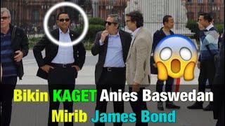 Bikin Kaget Beredar Photo-Photo Anies Baswedan Mirip James Bon Dalam Acara Urban 20