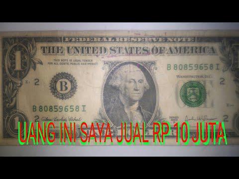 Uang Ini Saya Jual Rp 10 Juta 1 Dollar Amerika Youtube