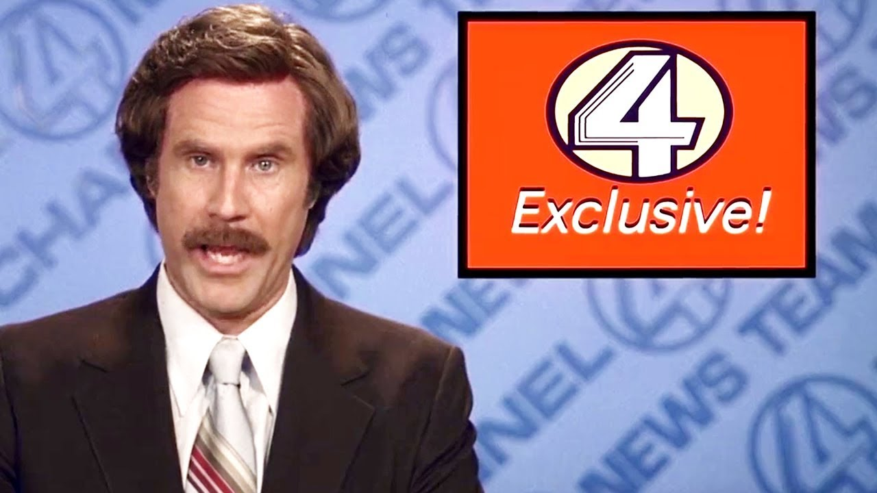 Download Anchorman: The Legend of Ron Burgundy (2004)  - Opening Scene