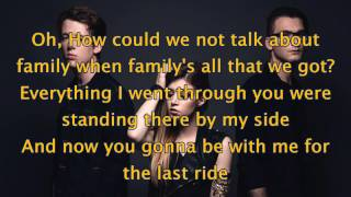 See You Again - Cover by Against The Current (Lyrics)