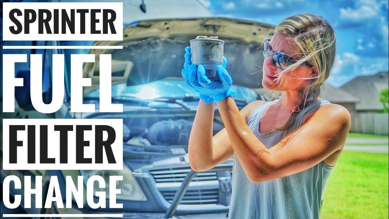 Sprinter Fuel Filter Change How To The In A Mercedes Replacement