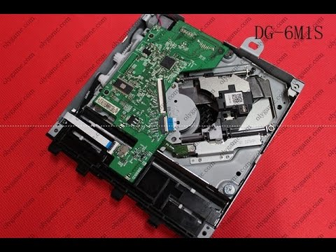 Xbox 360 slim dvd drive replacement guide.