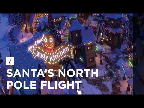 FlyOver Canada | Santa's North Pole Flight