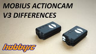 New Mobius ActionCam Version 3 Differences from Version 1 & 2