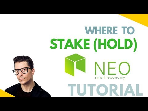 How To Store / Stake Neo Safely And Earn GAS For Free