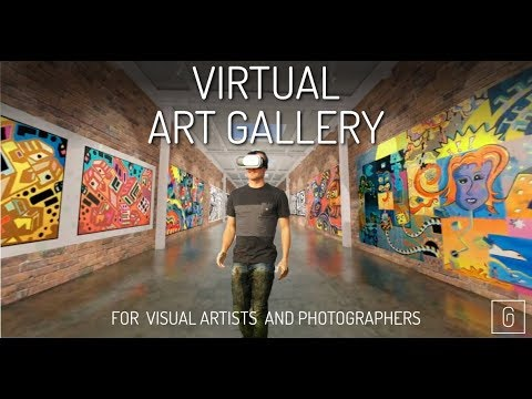 VIRTUAL ART GALLERY FOR ARTISTS - TRAILER