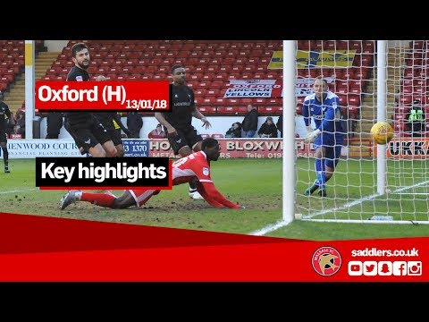 Walsall v Oxford U