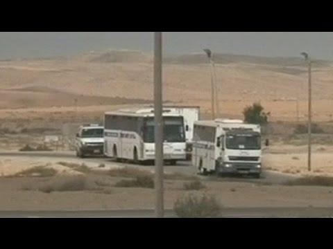 Les Prisonniers Palestiniens Commencent à Quitter Leurs Prison Israéliennes