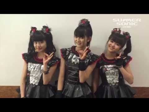 BABYMETAL message for Summer Sonic 2016