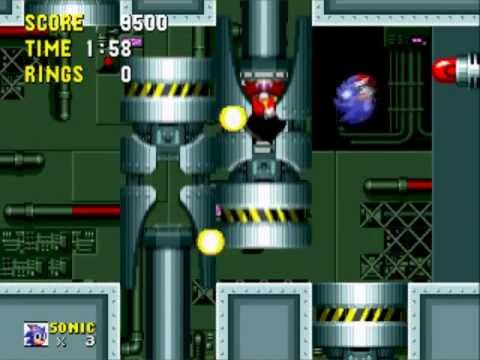 Sonic the Hedgehog: Scrap Brain Zone - Act 1-3 - Final Zone