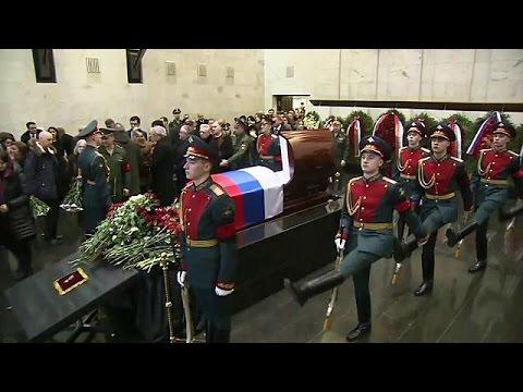 Rusya'nın BM temsilcisi Churkin son yolculuğuna uğurlandı